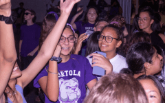 New Pack of Pups Shows School Spirit at Welcome Back Dance