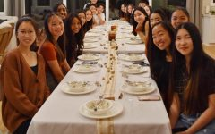 Kayla Espiritu and 17 other juniors had their potluck dinner on Nov. 11, continuing the tradition of Friendsgiving that they started when they first entered high school.