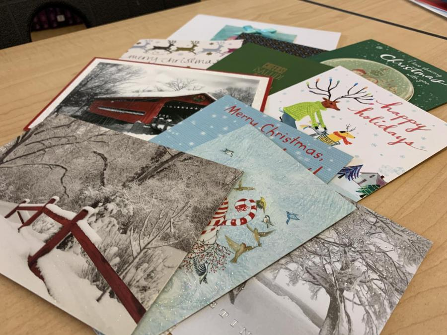 Social studies teacher Natasha Schottland keeps a collection of all the cards she receives from students each year and rereads them frequently. A handwritten card is one gift that can never go wrong.
