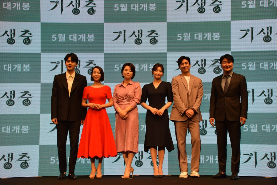 """The cast of """"Parasite,"""" including Song Kang-ho, Choi Woo-shik and others walked the red carpets at film festivals around the world but remarked that the Academy Awards was one of their most significant and memorable experiences."""