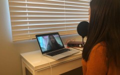 Junior Rachel Abalos interviews junior Sofia Fidel about her thoughts on seeing people going out despite the stay-at-home orders. Throughout the podcast, she answered questions focusing on her daily emotions with both of her parents returning home after diligently working at a local hospital.