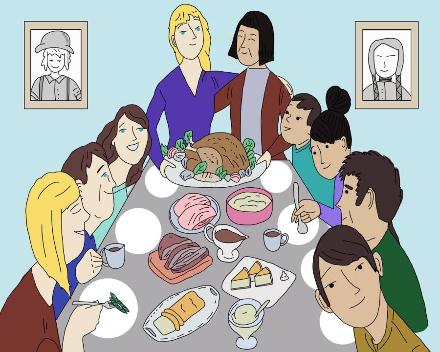 A family can celebrate Thanksgiving while still understanding and acknowledging its history. Thanksgiving's story is important, but the holiday has modernized into a different meaning.