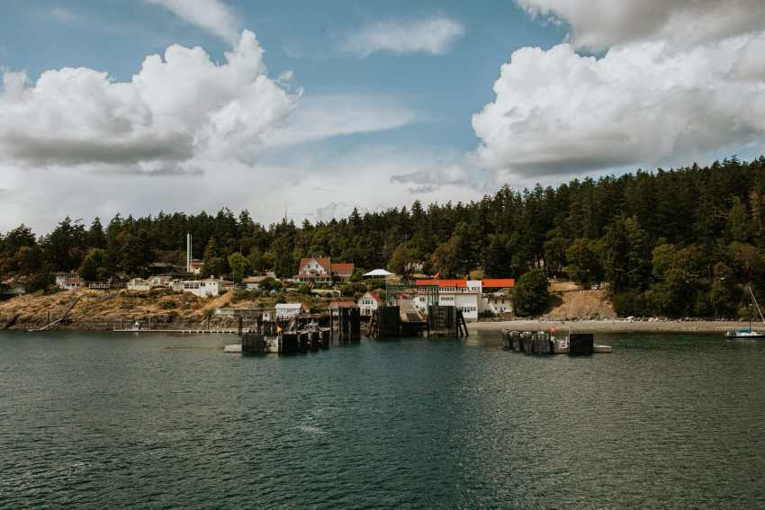 orcas island ferry docks