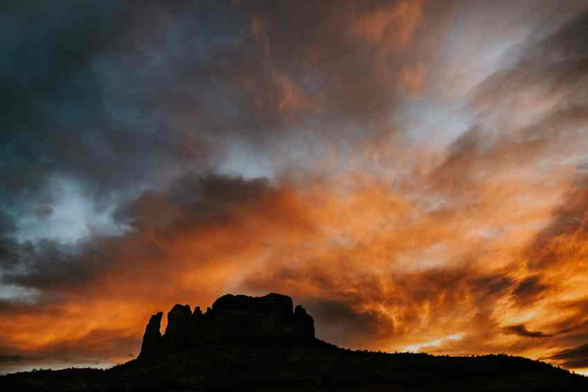 cathedral rock sunset