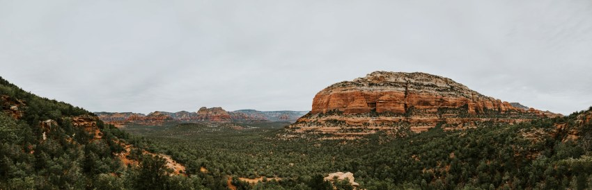 devil's bridge sedona panorama