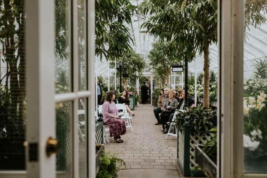 seattle wedding photographer volunteer park conservatory