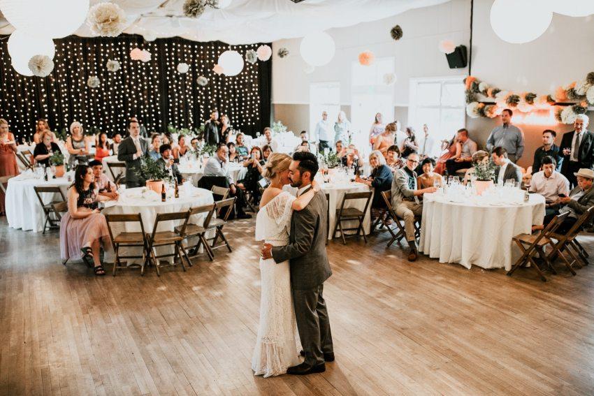 orcas island wedding photographer first dance