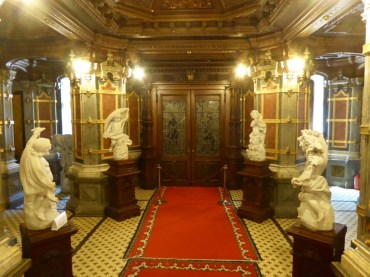 Inside of Peles Castle