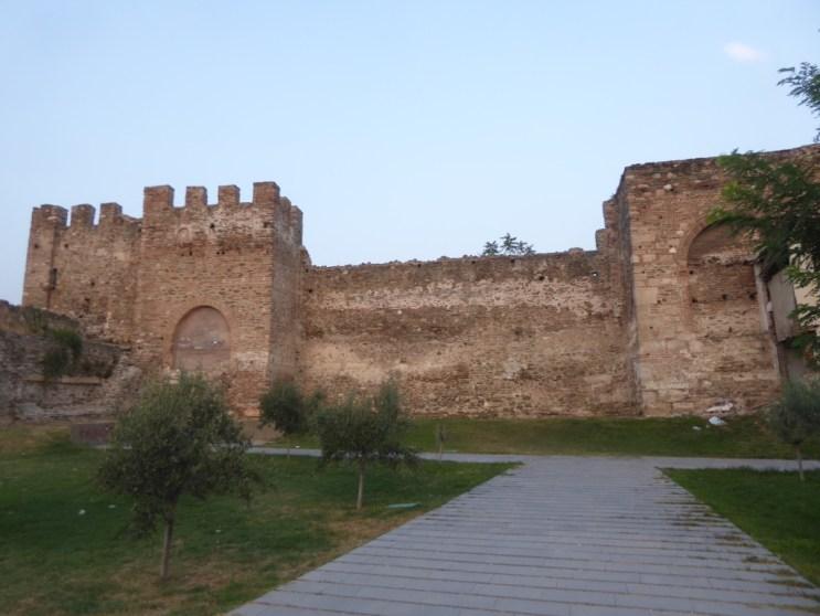 Byzantine Walls of Ano Poli
