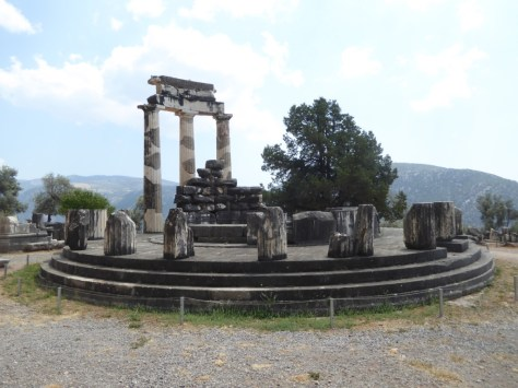 The Tholos in the Sanctuary of Athena