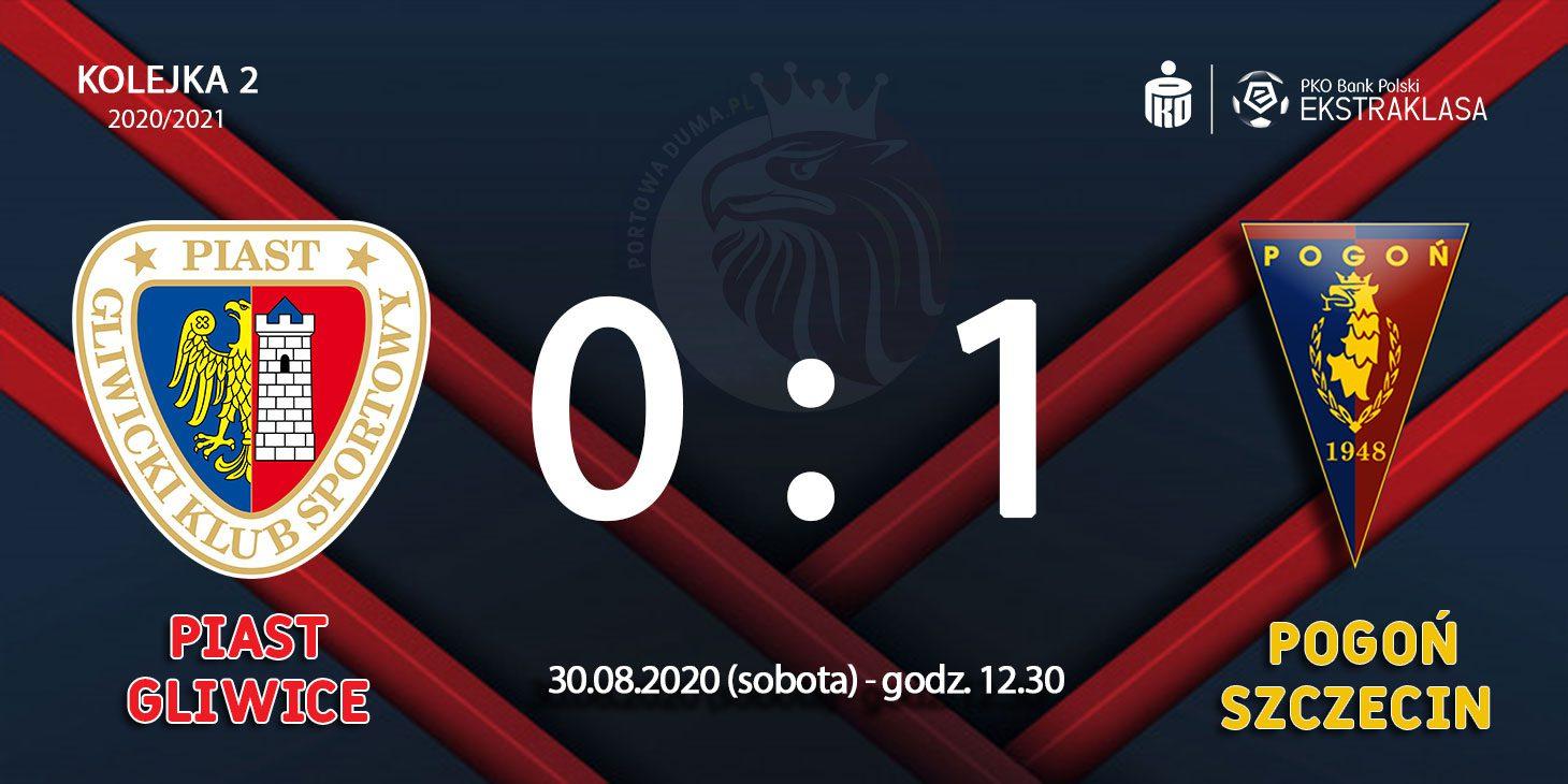 Piast Gliwice - Pogoń Szczecin 0:1