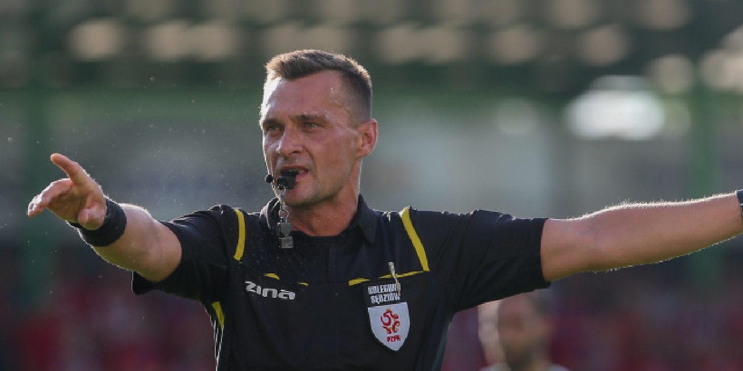 Daniel Kruczyński arbitrem w meczu z Podhalem Nowy Targ