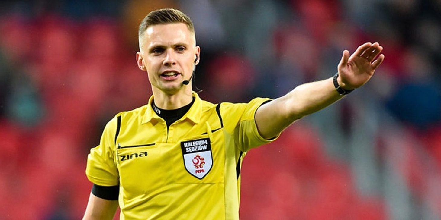 Damian Sylwestrzak arbitrem meczu z Jagiellonią Białystok