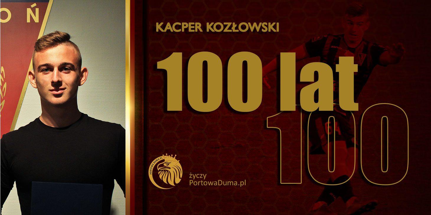 Kacper Kozłowski - urodziny