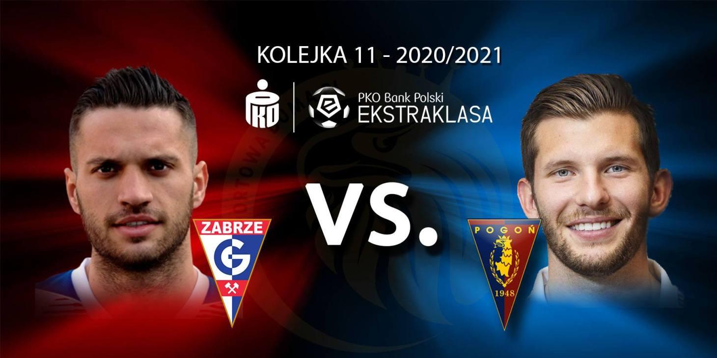 Górnik Zabrze - Pogoń Szczecin. Pojedynek meczu: Jesús Jiménez vs Alexander Gorgon.