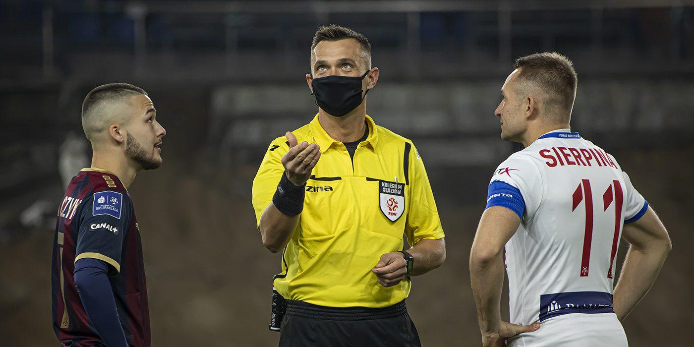 Jarosław Przybył arbitrem meczu z Lechem