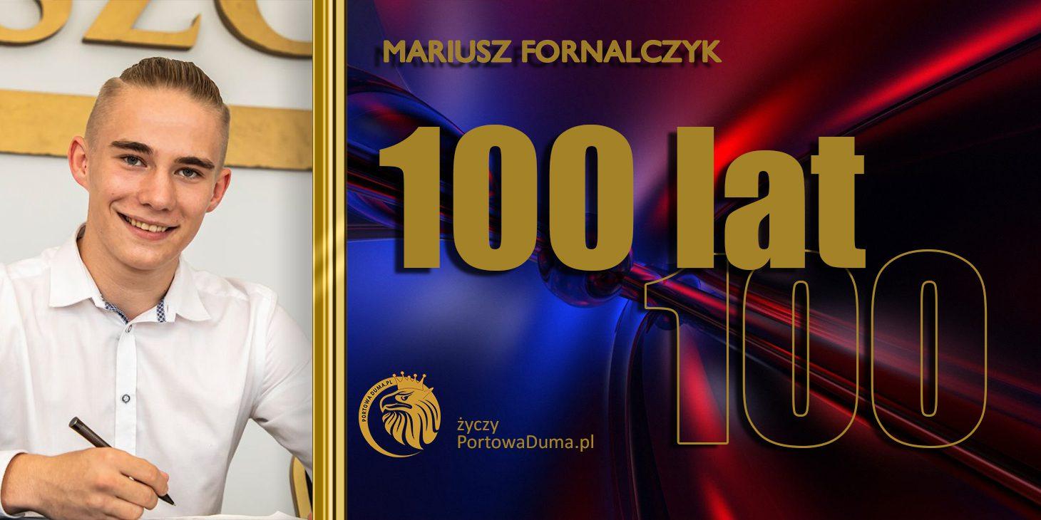 Urodziny Mariusza Fornalczyka