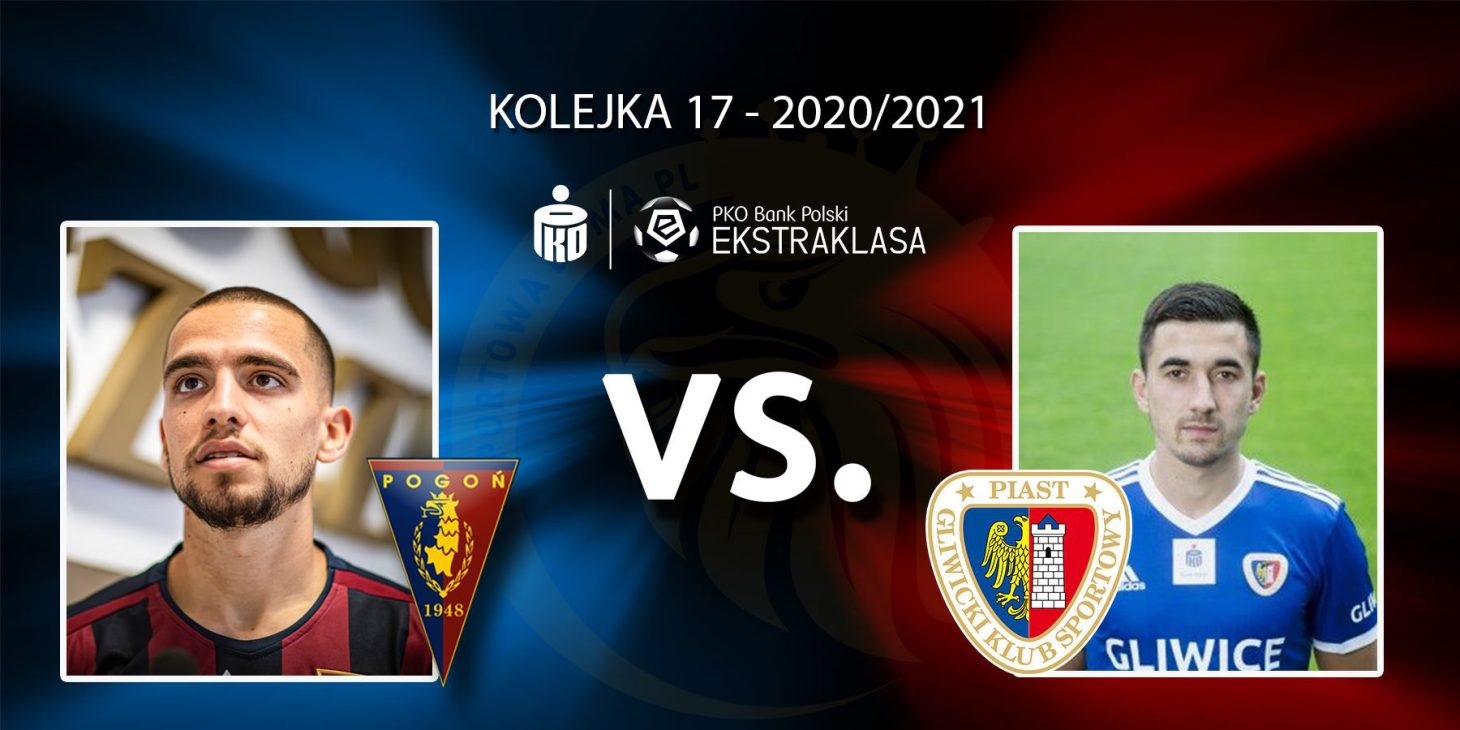 Pogoń Szczecin - Piast Gliwice. Pojedynek meczu: Luís Mata vs Martin Konczkowski.