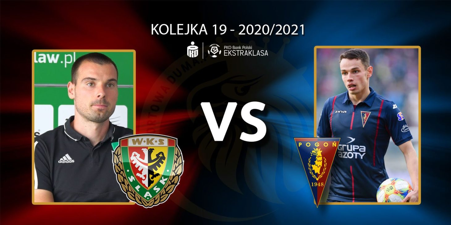 Śląsk Wrocław - Pogoń Szczecin. Pojedynek meczu: Dino Štiglec vs Jakub Bartkowski.