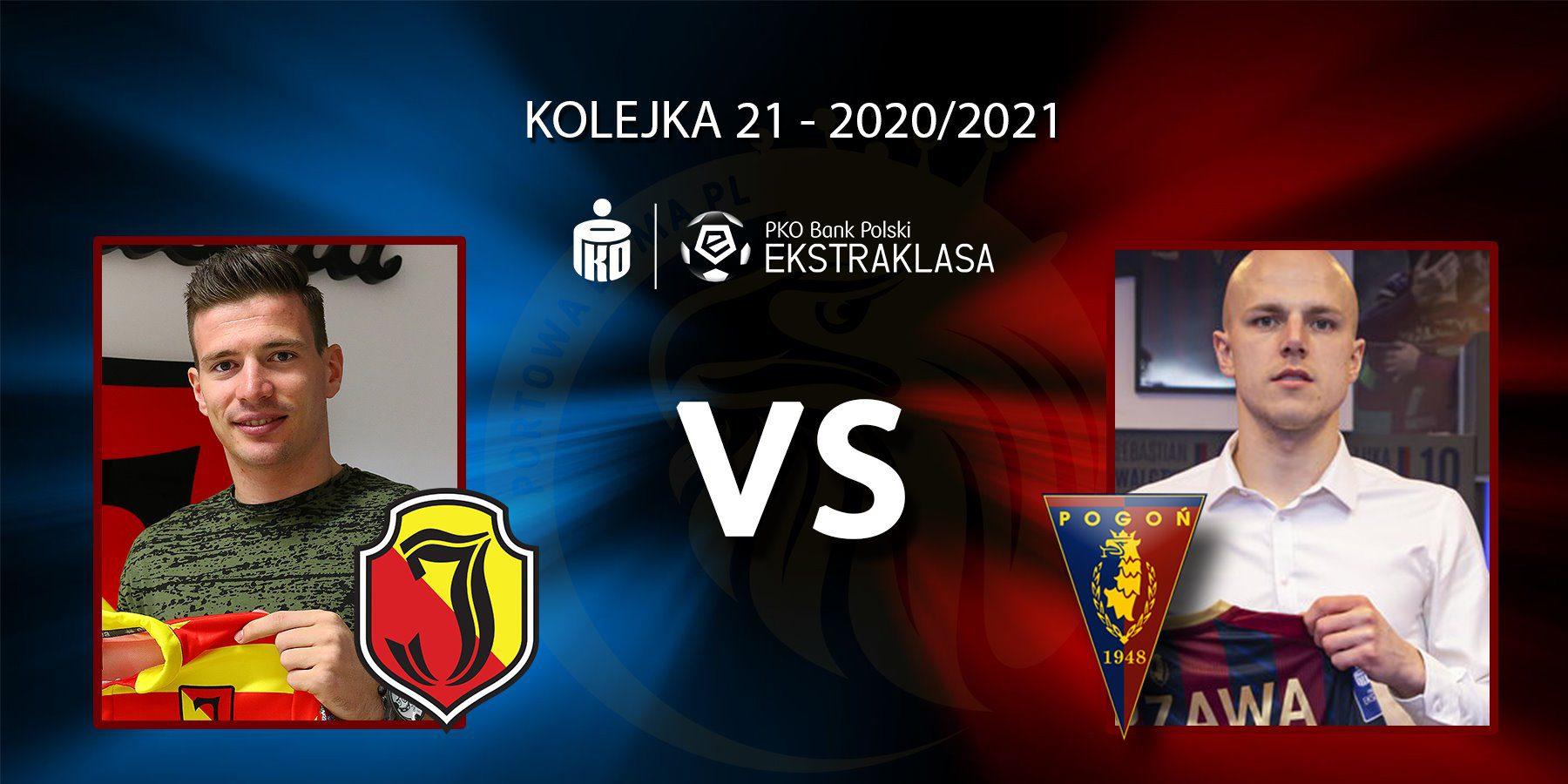 Jagiellonia Białystok - Pogoń Szczecin. Pojedynek meczu: Ivan Runje vs Rafał Kurzawa.