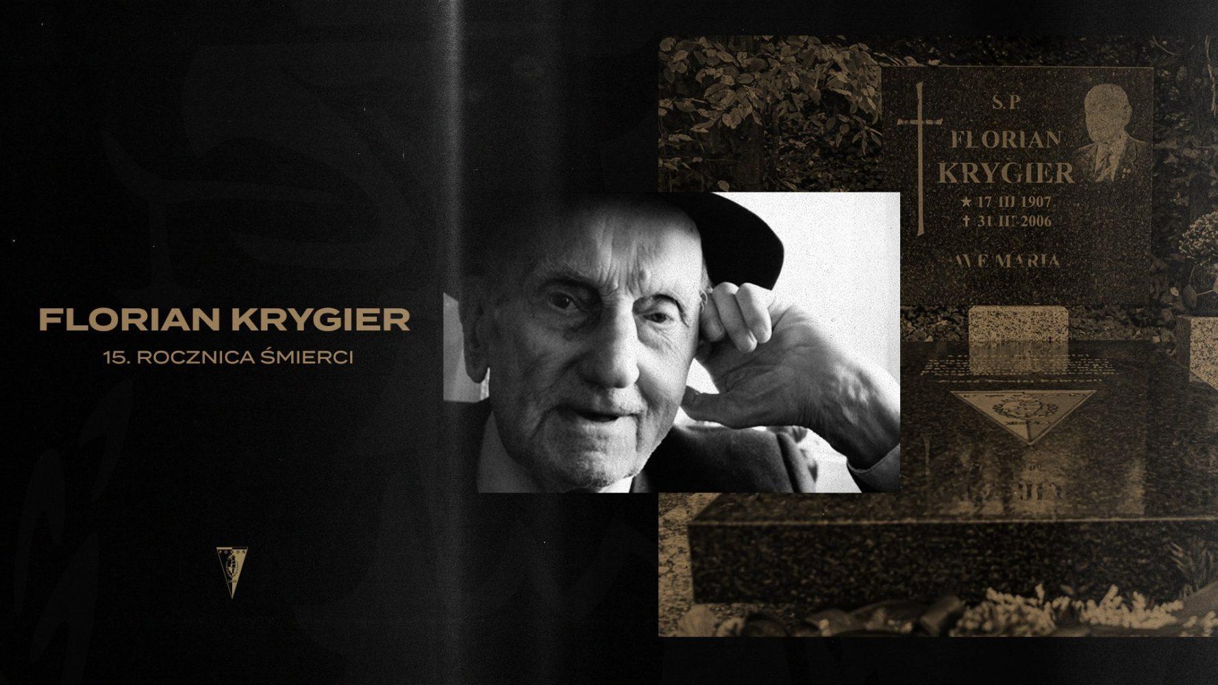 15. rocznica śmierci Floriana Krygiera.