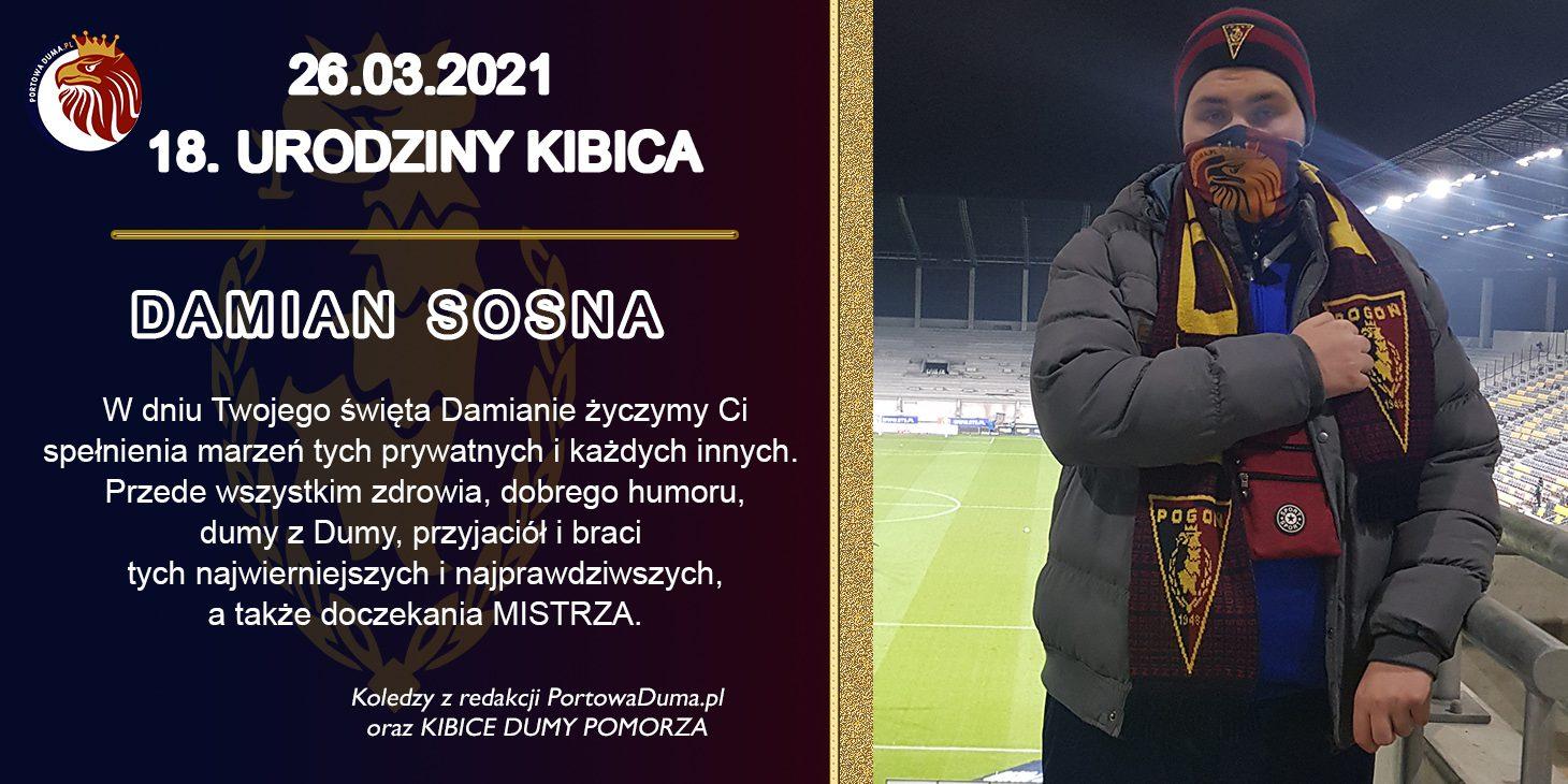 18. urodziny  Damiana Sosny - dziennikarza PortowejDumy.pl