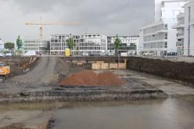 Port PHOENIX, Baufeld 1, 9. Mai 2014 | Bildrechte: nickneuwald