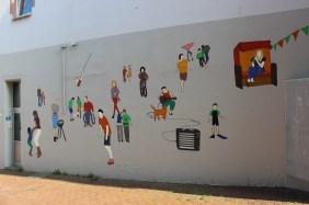Wandbild an der Kumpstraße | Bildrechte: nickneuwald