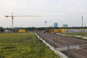 Baufeld Hauptverwaltung NORDWEST Handel AG, August 2015 | Bildrechte: nickneuwald