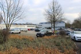 """Baufeld """"Hauptverwaltung & Seminargebäude""""   Bildrechte: nickneuwald"""