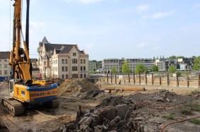 Anbau Sparkassenakademie & Hampton by Hilton, Juni 2016   Bildrechte: nickneuwald