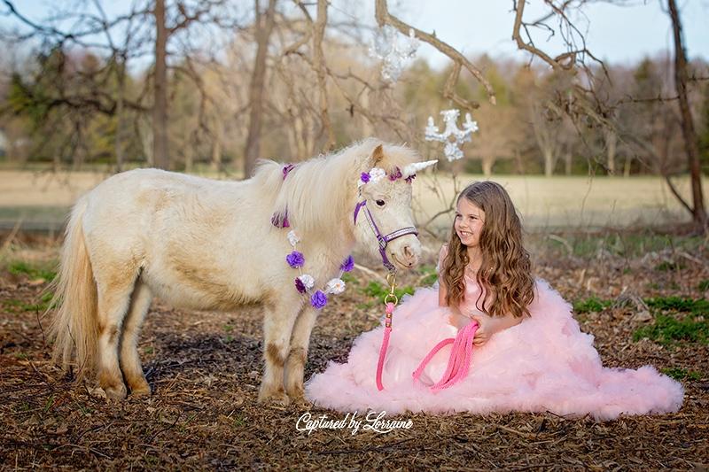 11 Unicorn photo session