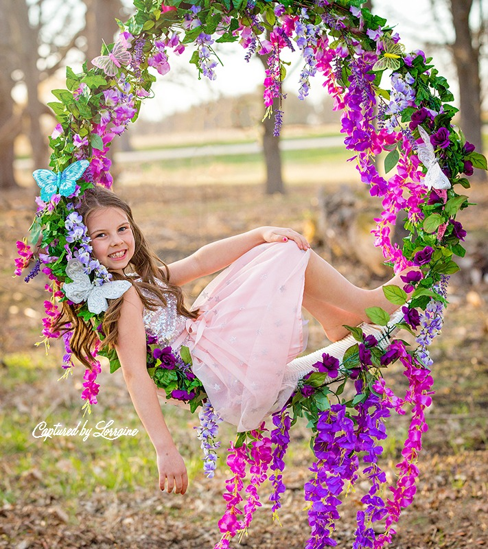 Flower Swing Photoshoots Illinois