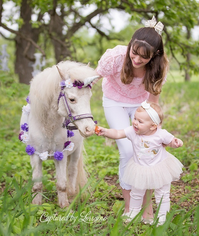 Hampshire Illinois Unicorn Photos