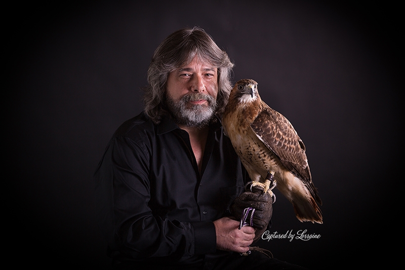 Falconer redtailed hawk (8)