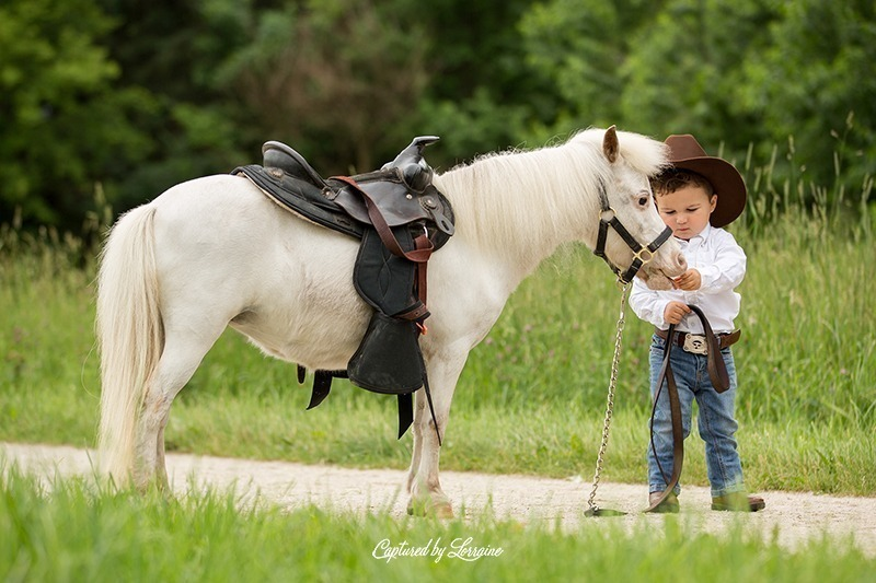 Cowboy and Horse Photo Session-Elgin Illinois