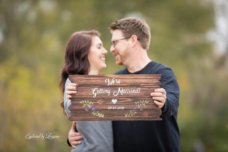 Fall Engagement Photos-Big Rock Illinois