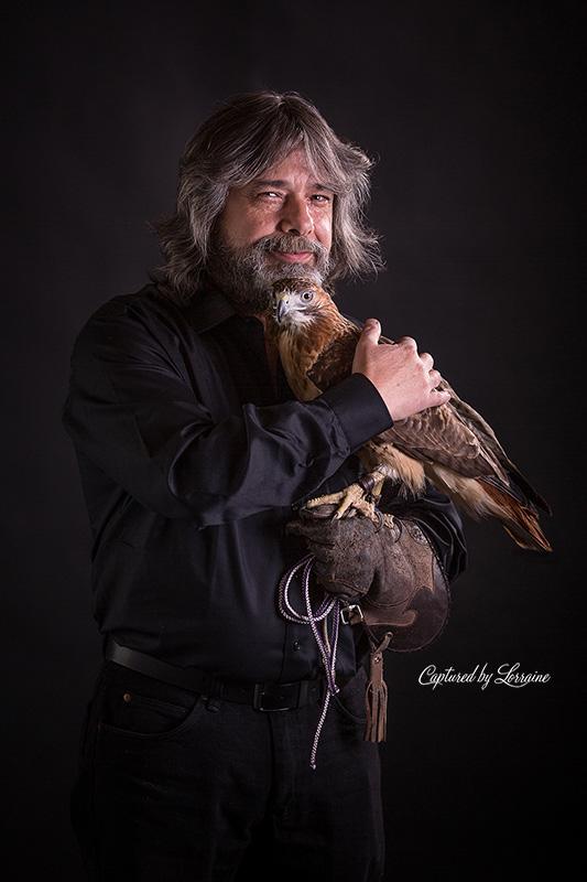 Falconer-redtailed-hawk