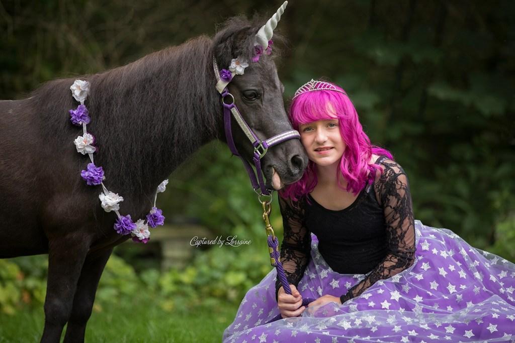 Unicorn Photo shoot Batavia Illinois