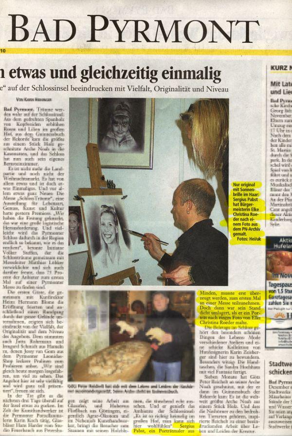 Sergius Pabst, ein Portraitmaler aus Minden