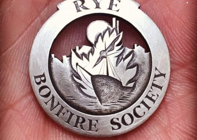 Rye Bonfire Society Badge