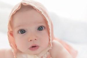 doll face in a bonnet