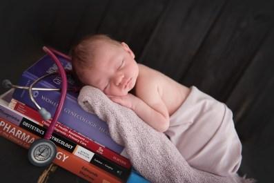 baby girl medical nursing books