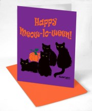 Happy Meow-lo-ween!