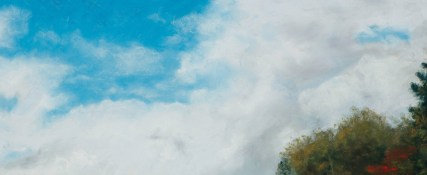 Detail upper clouds