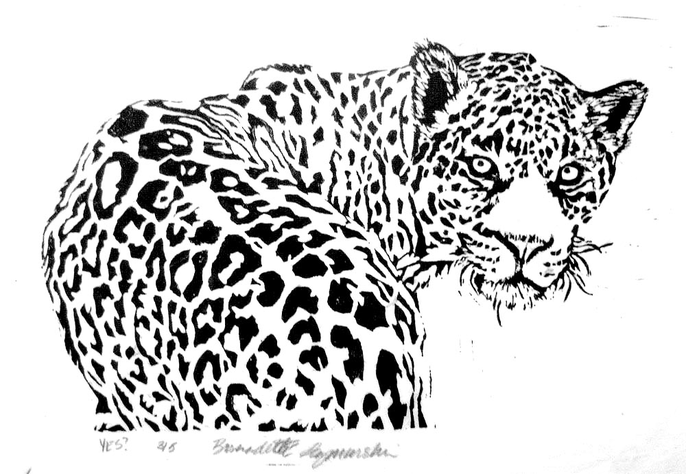 Wildlife Linoleum Block Prints