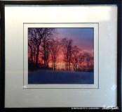 """Framed of """"I Chased a Sunset""""."""