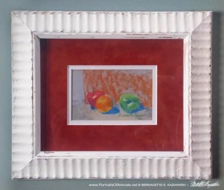 Fruit, framed.