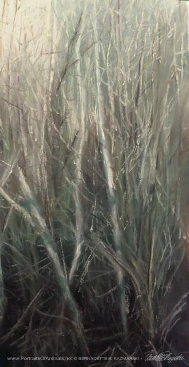 Detail, left edge trees.