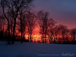 I Chased a Sunset, digital photo.